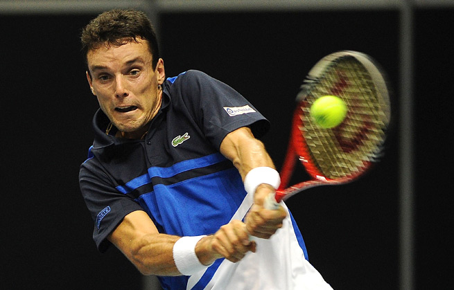 Roberto Bautista Agut couldn't hang on against Russian qualifier Alexander Kudryavtsev, who won 6-4, 3-6, 6-3.