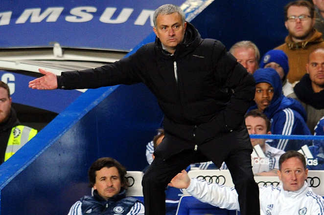 Mourinho's Chelsea and Stoke will be the only Premier League sides to play each other in the FA Cup's fourth round.