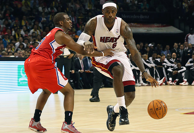 LeBron James' Heat are favorites, but Chris Paul's Clippers are among the strong challengers.