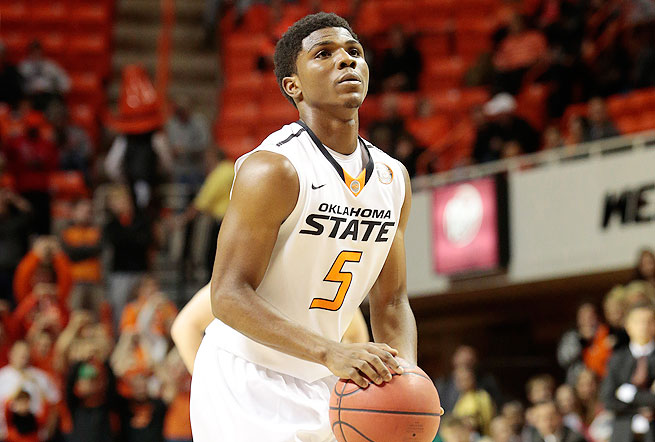 Clark, a backup point guard, is averaging 7.0 points for the sixth-ranked Cowboys.