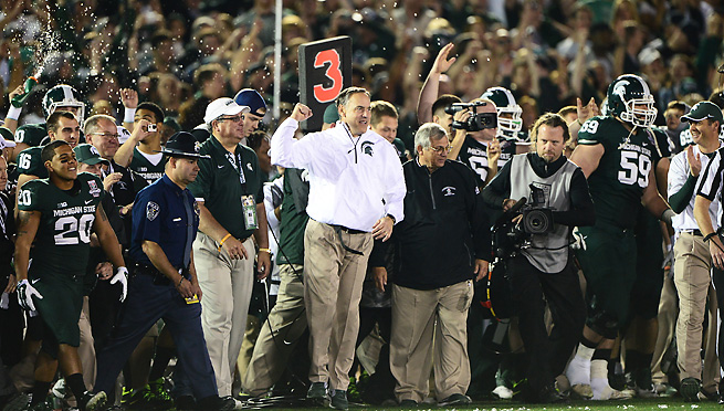Michigan State secured its status as an elite program with a 24-20 win over Stanford in the Rose Bowl.