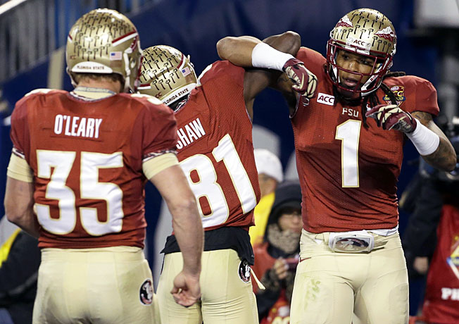 Nick O'Leary, Kenny Shaw and Kelvin Benjamin offer Jameis Winston a wealth of top receiving options.