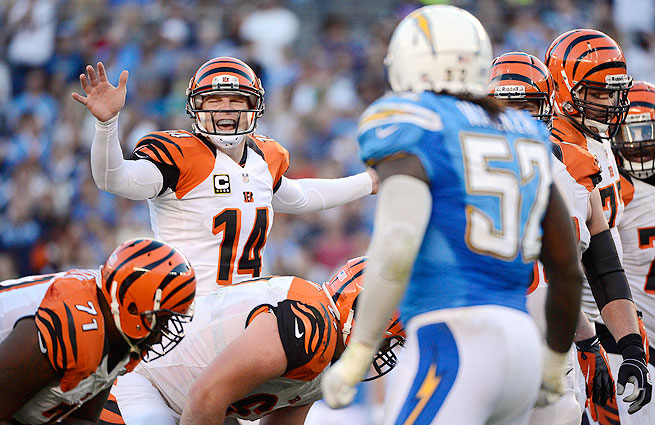 The Bengals haven't won a playoff game since 1990. Can they get off the schneid this weekend vs. the Chargers?