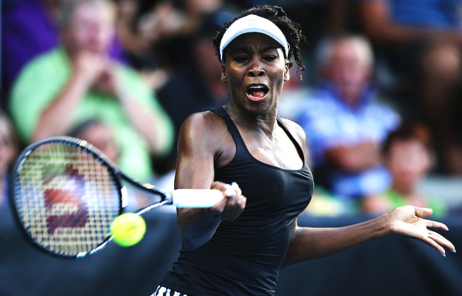 The last time Venus Williams won a WTA title was in Luxembourg in October 2012.