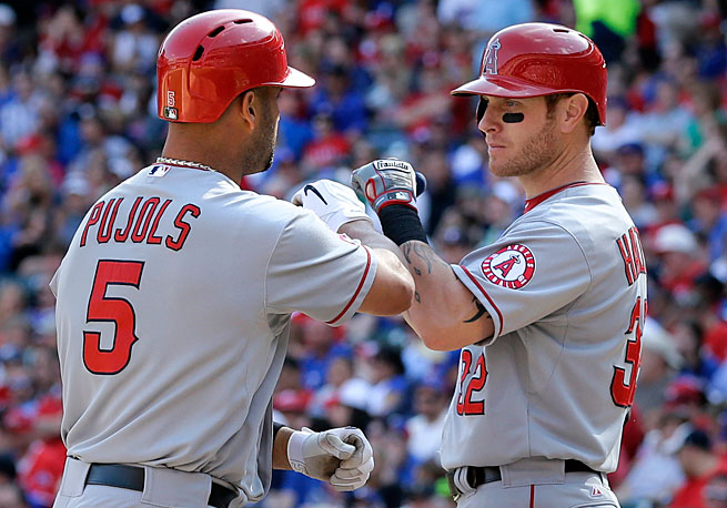 Albert Pujols and Josh Hamilton combined for just 38 home runs in their first year as teammates in Anaheim.