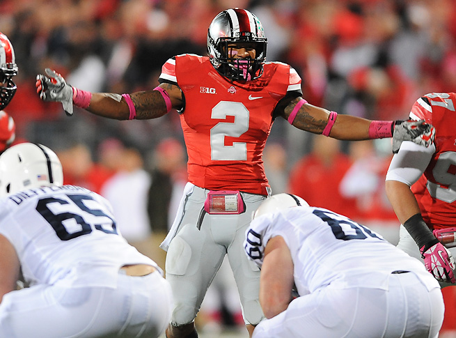 Ryan Shazier finished the season with double-digit tackles in six of Ohio State's 13 games.