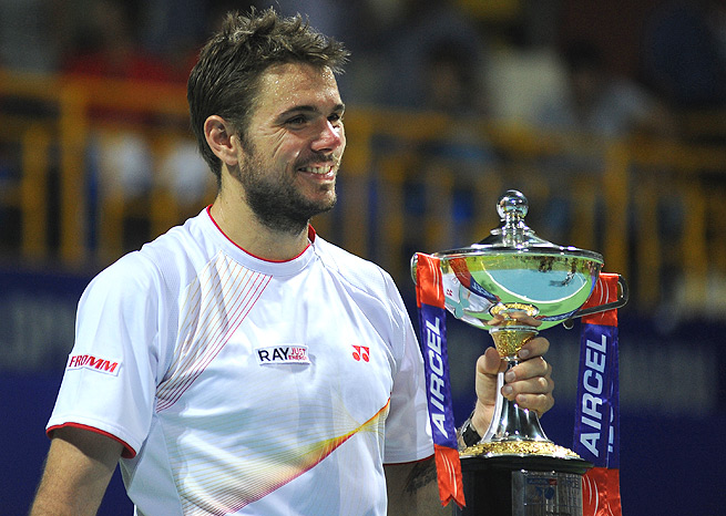 Stanislas Wawrinka didn't drop a single set en route to winning the Chennai Open.