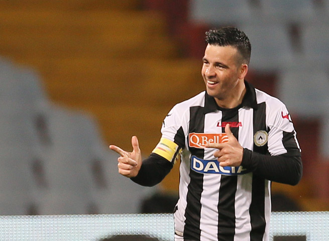 Udinese striker and former Italy national team standout Antonio Di Natale says he will retire from playing at the end of the season.