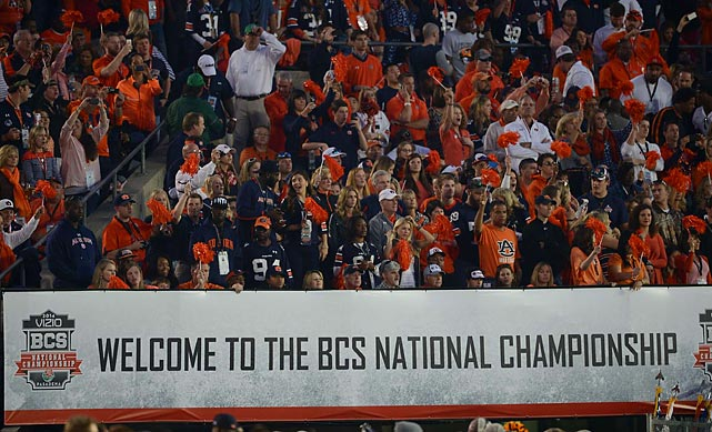 Thousands of Auburn faithful traveled to Pasadena, Calif., to watch the Tigers try to claim their second national title in four years.