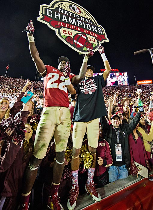 Florida State finished the season a perfect 14-0 including postseason play.