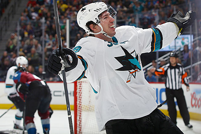Just as Logan Couture started to heat up offensively, he was sidelined by an injury.
