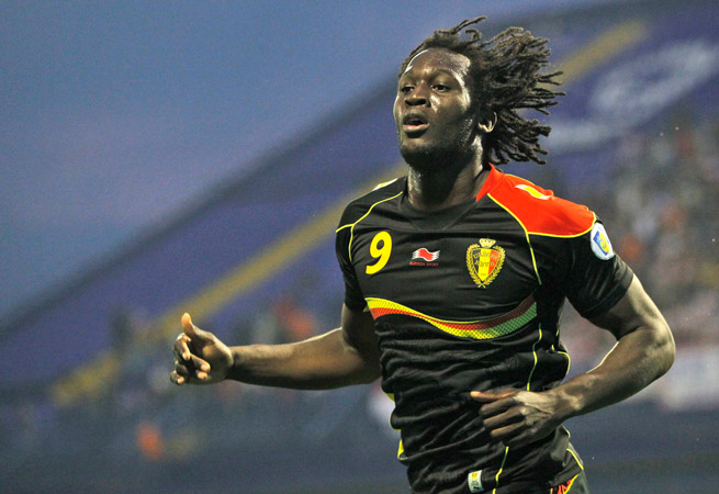 Romelu Lukaku is of Congolese descent and is at the forefront of a large group of multi-ethnic players on the Belgian national team.