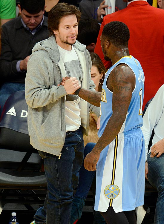Los Angeles Lakers vs. Denver Nuggets Jan. 5, 2013 at Staples Center in Los Angeles