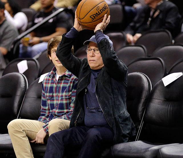 San Antonio Spurs vs. New York Knicks Jan. 2, 2013 at AT&T Center in San Antonio