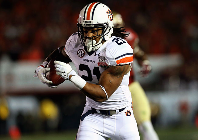 After running for 195 yards in the title game, Tre Mason finished the season with 1,816 rushing yards.
