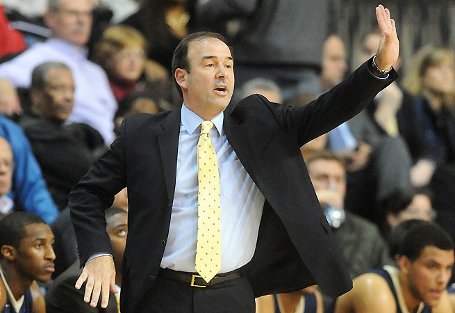 George Washington's Mike Lonergan is one of many coaches who rebuilds his roster with transfers.