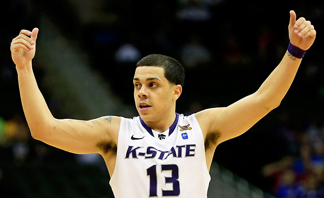 Angel Rodriguez averaged 11.4 ppg as a sophomore at Kansas State before transferring to Miami.