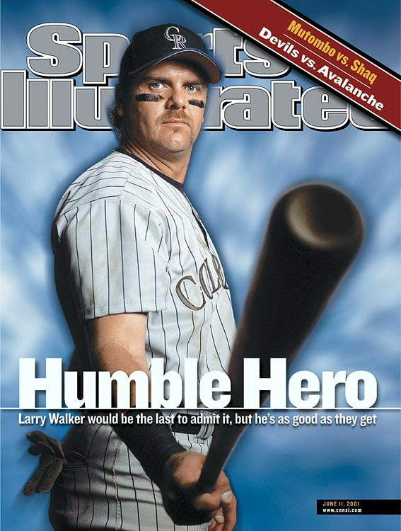 One of the great Colorado Rockies of all-time, Larry Walker drew only 10.2 percent of votes in this round of Hall of Fame voting. Voters seem fixated on another form of performance enhancement -- not steroids, but the mountain air at Coors Field, where the Rockies play their home games at 5,280 feet. Some argue that the mile high elevation inflated Walker's numbers, even though he did play several years with Montreal and St. Louis as well.