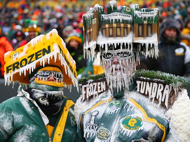 Unfortunately for these poor palookas, their team's season was iced by the San Francisco 49ers at Green Bay's hallowed Lambeau Field.