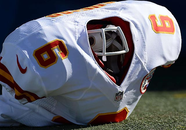 The aftermath of a truly crushing defeat for the Kansas City Chiefs at the hands of the San Diego Chargers.