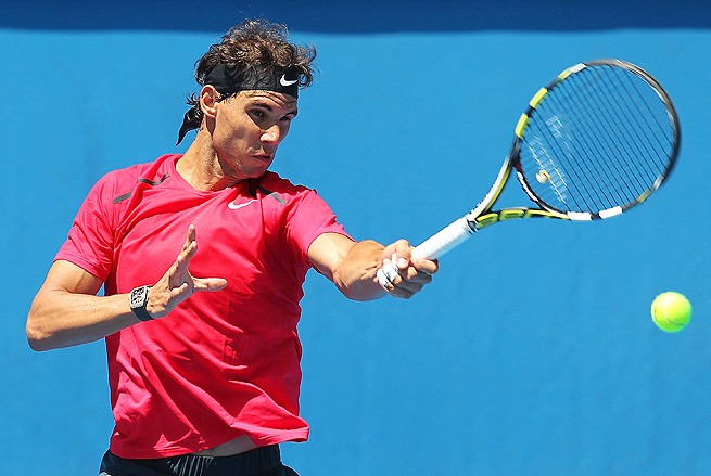 Rafael Nadal will play Bernard Tomic in the most anticipated first-round match of the Australian Open.