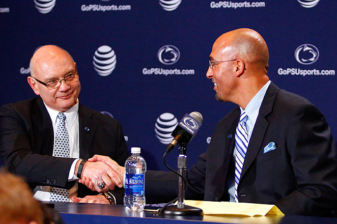 Penn State is giving James Franklin a six-year, $27 million deal, with an annual salary of $4.5 million.