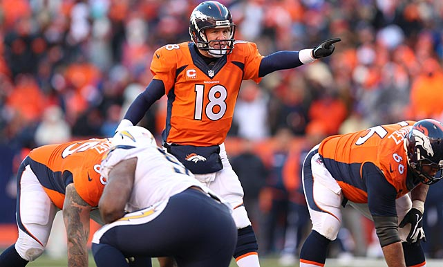 Peyton Manning played a solid game in getting the Broncos to the AFC Championship Game against the New England Patriots.