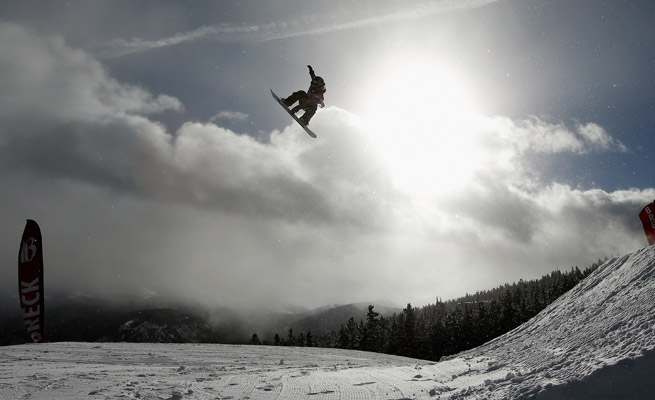 The third of the U.S. Ski and Snowboard Association's five competitions was cancelled on Saturday due to dangerous weather conditions.