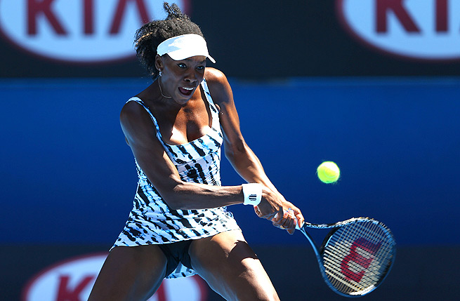 Venus Williams won the first set, but gave up the second two to lose to Ekaterina Makarova.