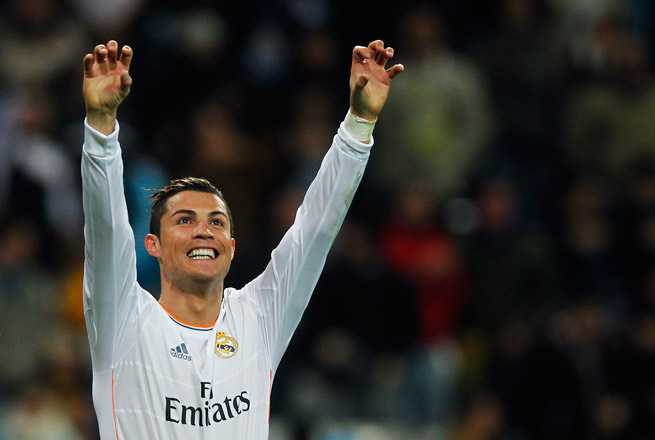 Cristiano Ronaldo says his rift with FIFA president Sepp Blatter was settled via phone call.