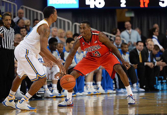 Rondae Hollis-Jefferson and Arizona held off UCLA after blowing a 13-point lead on Thursday.