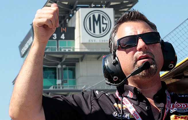 Michael Andretti hopes new engines and a new driver make for a successful 2014 season.