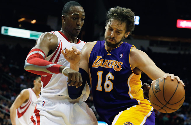 The departure of Dwight Howard to Houston hasn't rejuvenated Pau Gasol's career as expected.