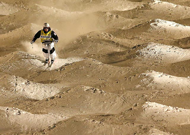 Mikael Kingsbury of Canada won the moguls at the Freestyle Ski World Cup at Deer Valley in Park City, Utah last week.