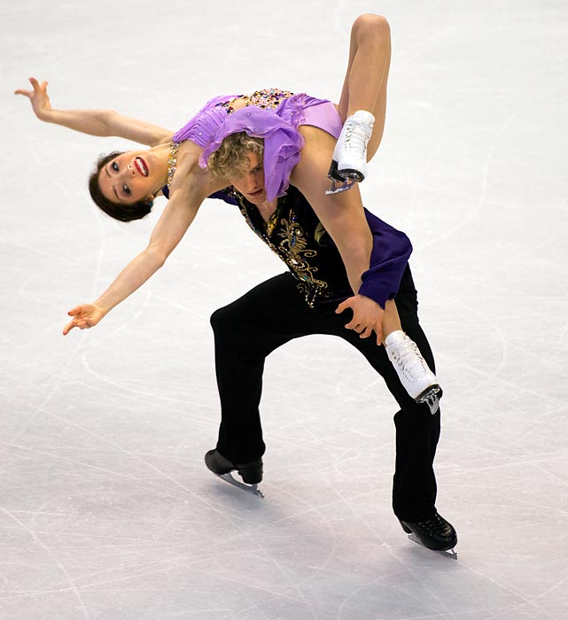 Meryl Davis and Charlie White skate during the 2014 U.S. Figure Skating Championships on Jan. 11 in Boston. The duo won their sixth title, a record, and will compete in the Sochi Olympics.
