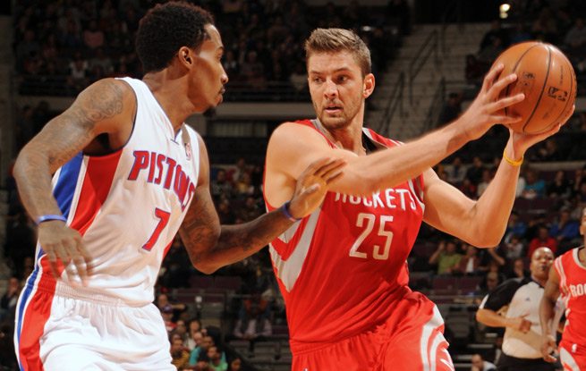 With defenses keying in on James Harden and Dwight Howard, Chandler Parsons is having a career year.