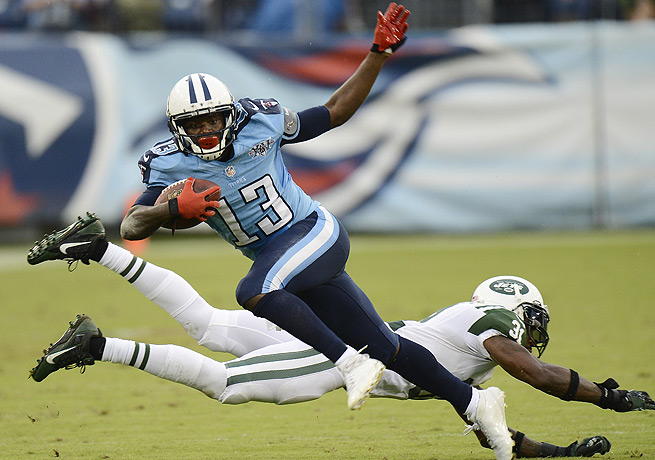 Kendall Wright (13) had a standout sophomore campaign and should be even better next season.