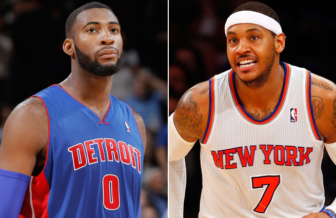 Does Andre Drummond (12.7 ppg, 12.7 rpg, 1.8 bpg) deserve an All-Star spot over Carmelo Anthony?