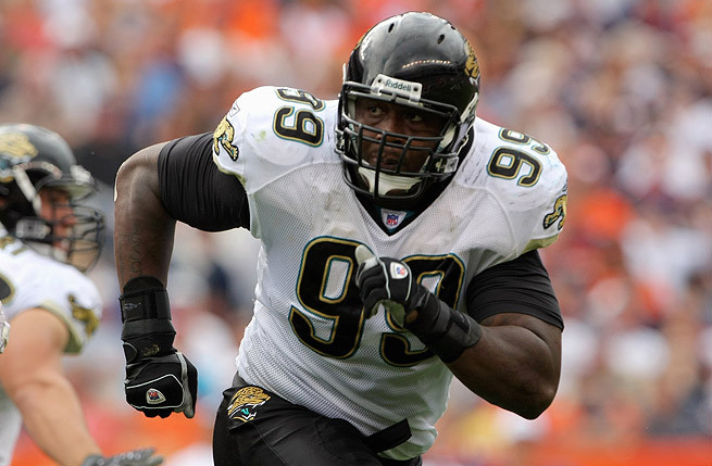 Marcus Stroud spent seven years at defensive tackle with Jacksonville and three with Buffalo.