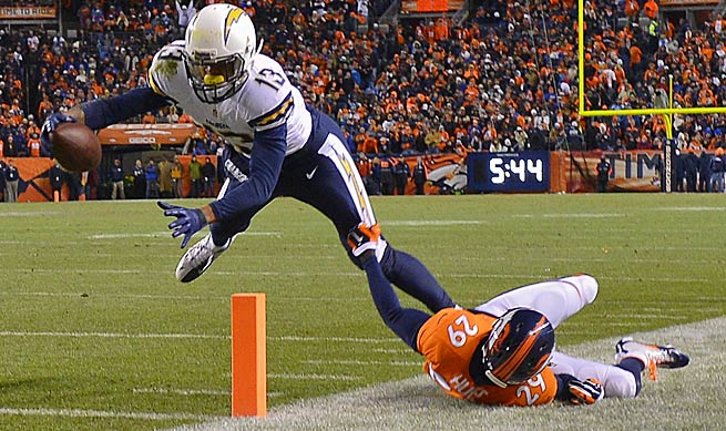 Rookie Keenan Allen finished the season as the San Diego Chargers best receiver.