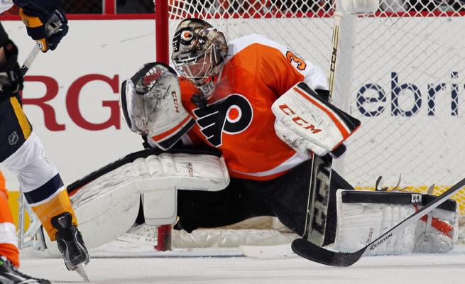 A career revival in Philly has earned goalie Steve Mason a three-year contract extension worth $12.3 million.