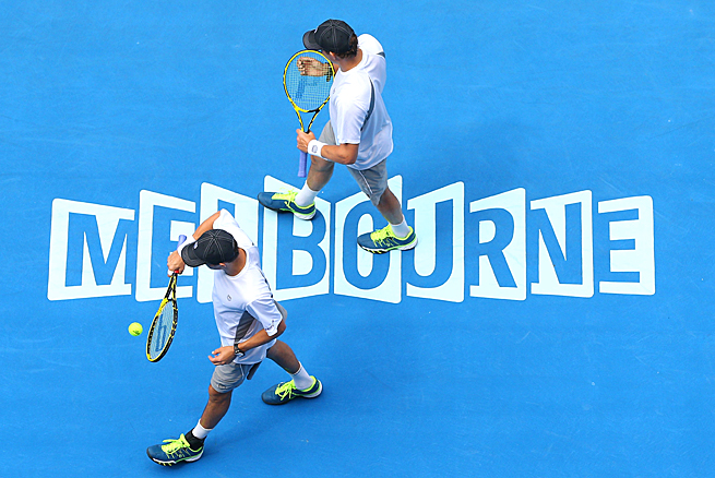 Bob and Mike Bryan have reached Australian Open men's doubles finals nine of the last 10 years.