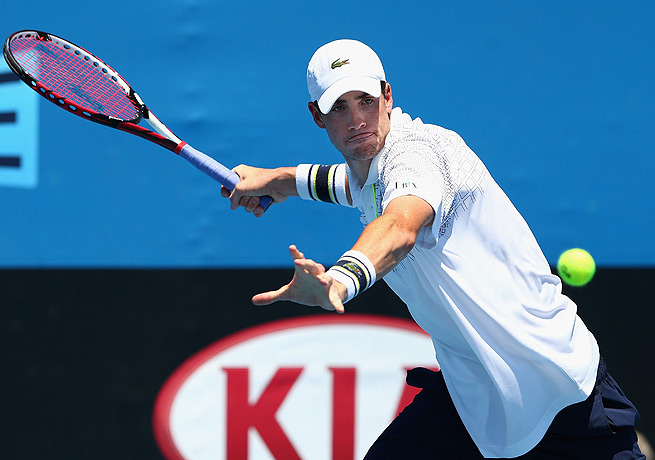 John Isner was bounced in the first round in Melbourne but will represent the U.S. in the Davis Cup.