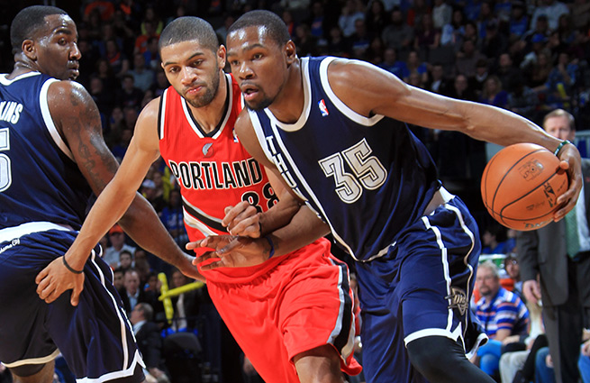 Kevin Durant and the Thunder are 21-4 with Russell Westbrook this year and just 7-6 without him.