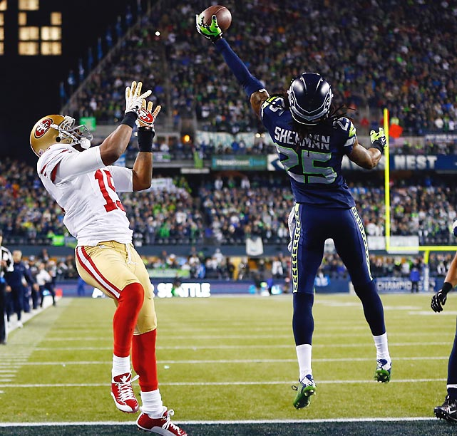 The Seahawks hit the jackpot with this pick, despite the on-field controversies in which Richard Sherman has been involved. In the 2013 regular season, the fifth-round pick out of Stanford in 2011, was targeted 58 times on 549 defensive snaps, which was a league-low 10.56 percent among qualifying cornerbacks. And he still led the NFL with eight interceptions. In two playoff games before the Super Bowl, he was targeted twice -- yes, two times in two games -- with no catches against him. Then he and the Legion of Boom defense totally dominated Peyton Manning and Denver in a resounding 43-8 Super Bowl victory.<italics> </italics>