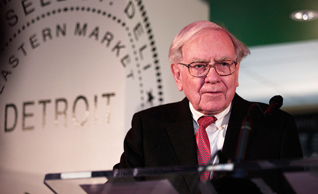 Warren Buffett's Berkshire Hathaway is teaming with Quicken to award the potential prize.