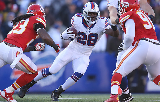A first-round pick in many fantasy drafts, C.J. Spiller disappointed with a mere two TDs in 2013.