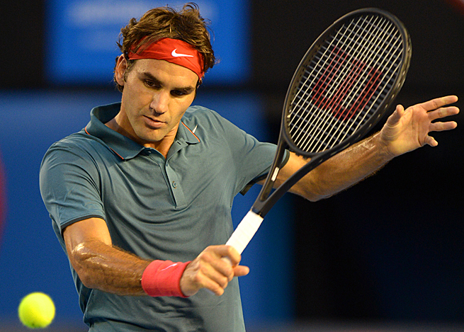 With this victory, Roger Federer has now reached 11 straight semifinals at the Australian Open.