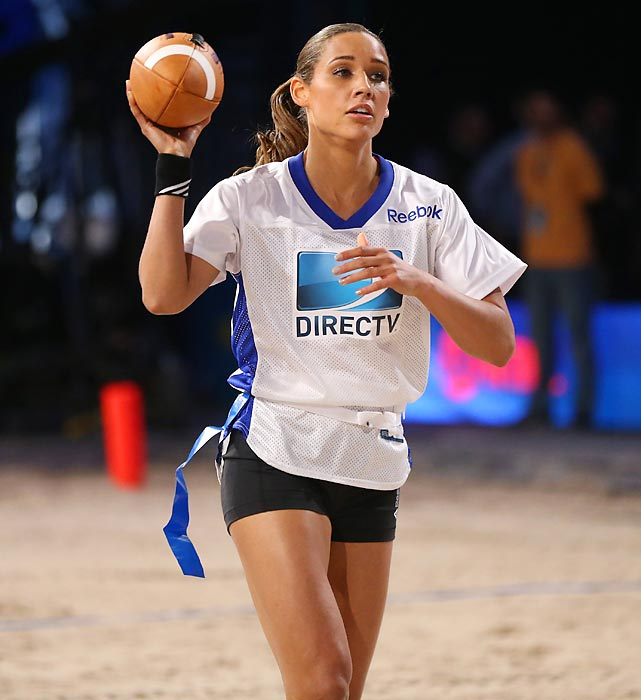 Jones participated in DIRECTV'S Seventh Annual Celebrity Beach Bowl before Super Bowl 47 in New Orleans.