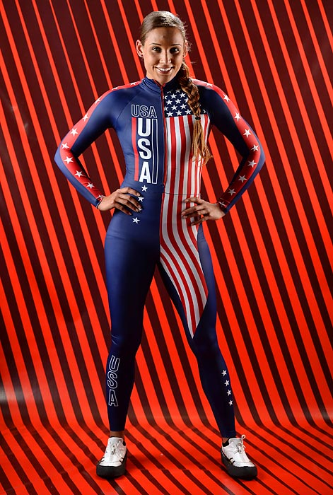 Olympic 100-meter hurdler Lolo Jones added the Winter Olympics to her resume in January, when she was chosen to represent the U.S. in the bobsled at the games in Sochi, Russia. Here are some classic photos of Jones, who is set to become the ninth American to compete in both a Summer and Winter Olympics.